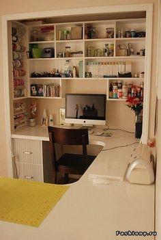 Идеи по организации пространства для творчества