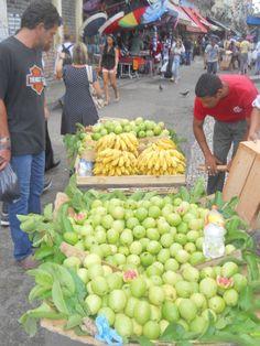 Fresh goiaba (guava) fruit!