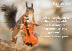 Edward Bulwer-Lytton on life