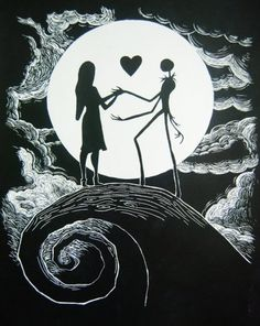 Jack and Sally  For it is plain, as anyone can see, we're simply meant to be.