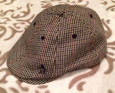 ORIGINAL PENGUIN Munsingwear Houndstooth Cabbie Hat Cap  OriginalPenguin   NewsboyCabbie Houndstooth e90ffc5c51fb