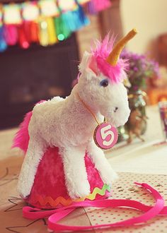 Magical Rainbow Unicorn Party! // Hostess with the Mostess®