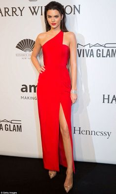 I love Kendall's red dress