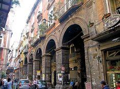 Neapel (Napoli), Via dei Tribunali
