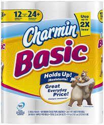 Save .25 on charmin basic