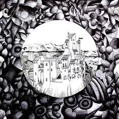 """Elaborato realizzato con la tecnica della penna a china. Alunna: Chiara Domenici 2B a.s.2013/2014 Liceo Artistico """"Stagio Stagi"""""""