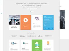Appiness Redesign by Shab Majeed