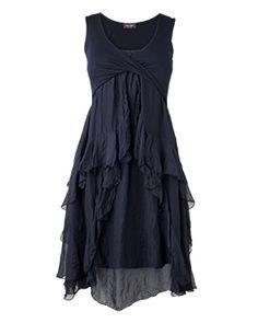 """tissu+ tomber des """"volants"""":yes!!! Je vois la meme en tres long, avec des manches semi transparentes et une superposition noir blanc en bas .et un haut plus """"décalé"""". kells silk jersey dress"""