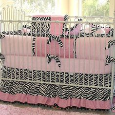 omg when i decide to have kids & i have a baby girl, she is sooo gonna have a pink & zebra room! <3