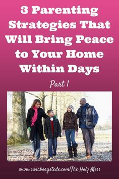 Are you looking for more peace and calm in your home? Check out these proven strategies for creating order. Part 1 -- a simple but very effective method for maintaining order during times of transition, phone calls, and other times you need to get something done. This works!