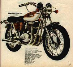 BSA 1971 Lightning 650