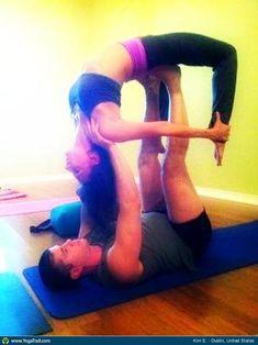 #Yoga Poses Around the World: Partner/Acro Yoga taken in Dublin, United States by Kim E.