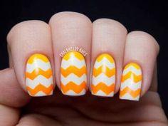 Hot Yellow nail colors