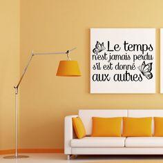 """Sticker: """"Donner le temps aux autres"""""""