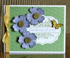 Krystal's Cards and More: Flower Shop Card Class #2