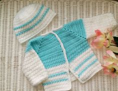 "Pt. 2 ""Precious Baby Cardigan Sweater"""