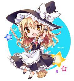 Chibi Marisa from Touhou. How cute!