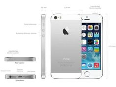 """iPhone 5s Apple 16GB iOS 8 Tela 4"""" 4G Wi-Fi - Câmera 8MP Grava em HD GPS Proc. M7 - Prata com as melhores condições você encontra no Magazine Sulpa. Confira!"""