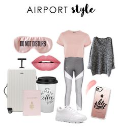 """""""Untitled #4"""" by karolinakarolina-1 on Polyvore featuring Rimowa, Casetify, Mark Cross, Topshop, BaubleBar and Forever 21"""