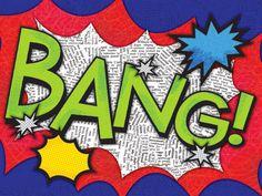 Bang! Canvas Reproduction