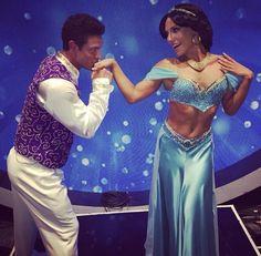 Week5 (Disney Night); Noah Galloway and Sharna Burgess as Aladdin and Princess Jasmine