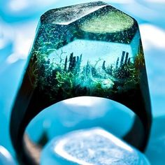 Secret Wood for rings that seem almost too magical to be real. | 23 Amazing Places To Shop Online This Small Business Saturday