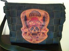 Harveys Seatbelt Bags ~ Sid Death or Glory CT---only available on ebay