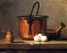 Jean Baptiste Siméon Chardin, Nature morte avec pilon et mortier