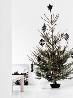 #celebrate #holidays #christmas tree #interior design #style #inspiration #winter