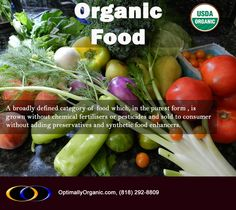 Organic Food-The World Healthiest Food! #healthyliving #healthyeating