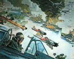 """Pearl Harbor"" by Robert McCall"