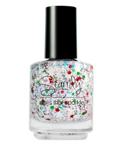 Magic of Frosty -Nice List 2013 Holiday Collection - Handmade nail polish Full bottle