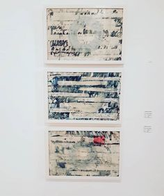 as currently exhibiting at wax & pigment monotype on kozo adhered to panel with a scarred encaustic surface. Entitled: objected subjective and rejected concerning on these three works and others by .viewing until March Irish Art, Mark Making, Contemporary Art, Wax, Surface, March, Artist, Instagram, Artists