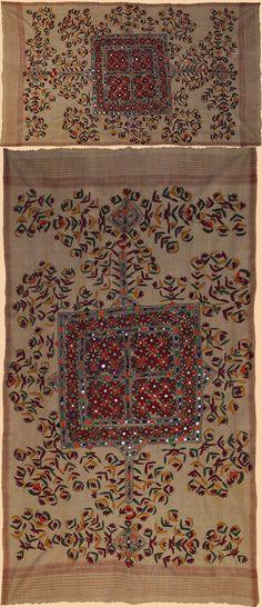 Pakistani & Indonesian Shawls - TextileAsArt.com, Fine Antique Textiles and Antique Textile Information
