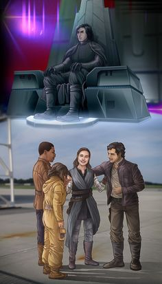 I can totally imagine their force connection starting at this moment, and Kylo getting upset bc he has no friends