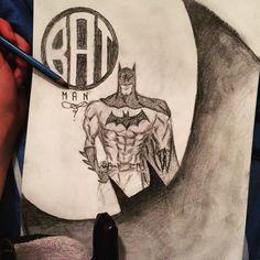 #batman #superhero #sketch #sketchestomboy #dccomics