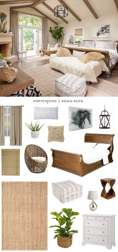 Copy Cat Chic: Copy Cat Chic Room Redo | Earthy & Serene Bedroom by @audreycdyer