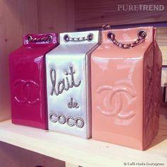 I WANT.!!!! Les it- briques de lait de Chanel vues sur le défilé Automne-Hiver 2014/2015.