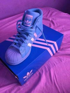 lowest price abed4 1e317 adidas, blue, and shoes image Blue Adidas, Tenis Adidas, Adidas Shoes,