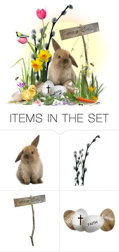 """""""HAPPY EASTER!!!!!"""" by edita1 ❤ liked on Polyvore featuring art"""