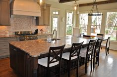 Breccia Paradiso Marble Was Used For This Beautiful Kitchen In Cary North Carolina