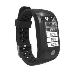 S908 Bluetooth GPS tracker Smart Watch IP68 waterproof Smart Wristband