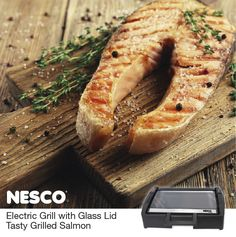NESCO®: Roaster Ovens | Dehydrators | Small Appliances | Jerky Spices | Tasty Grilled Salmon