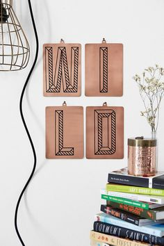 Assembly Home Contrast Letter $4.99 Urban Outfitters