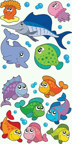 Ocean Animals Clipart For Kids Theme Tags Sea Creatures