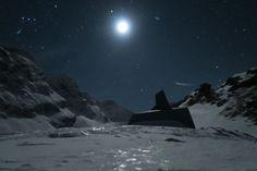 refugiul caltun noaptea iarna