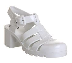 Buy White JuJu Babe Hi Jelly Shoes from OFFICE.co.uk.