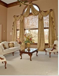 Large Living Room Window Treatment Idea - √ 30 Large Living Room Window Treatment Idea , Window Treatments for Large Windows Arched Window Treatments, Window Treatments Living Room, Custom Window Treatments, Window Coverings, Luxury Curtains, Elegant Curtains, Custom Curtains, Front Doors With Windows, Arched Windows