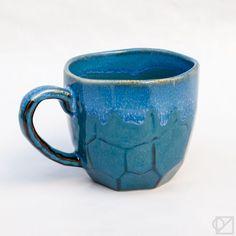 Blue Cumulus Ceramic Mug