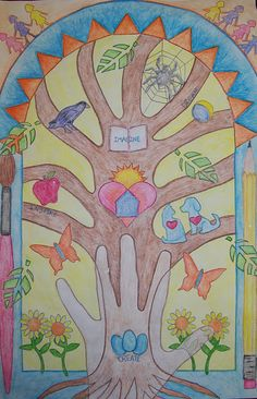 hand on art - Tree of Life